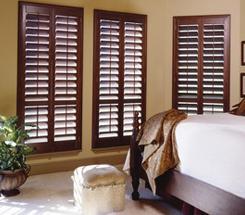 Bedroom With Window Shutter